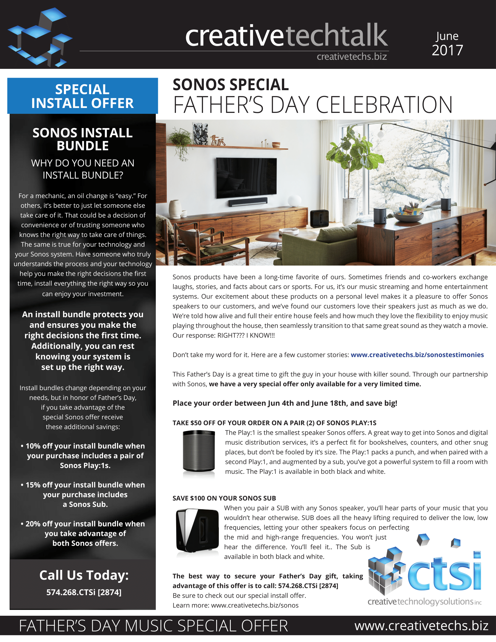 Newsletters  Creative Technology Solutions Inc